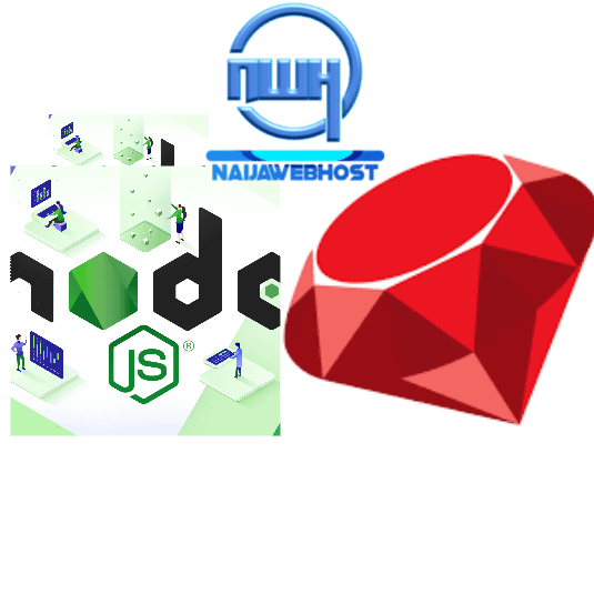 node.js and Ruby App icons