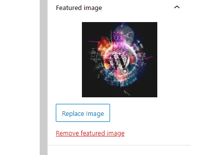 How to add featured image on WordPress