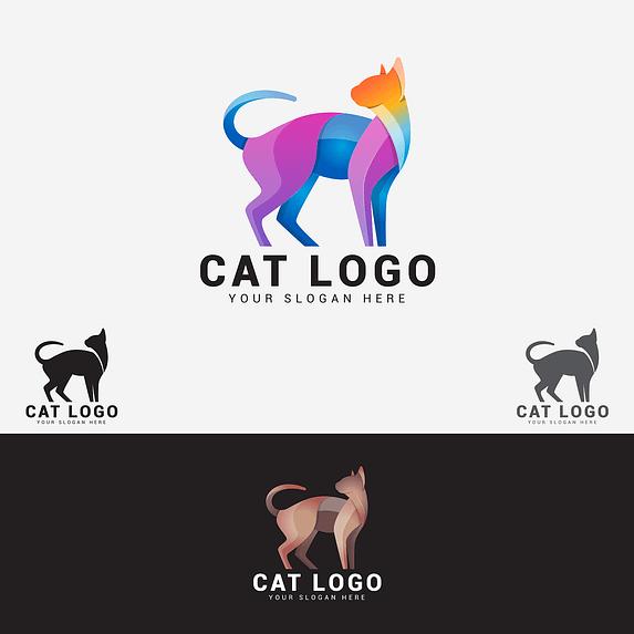 Cat Branding Animal Brand Company  - shazidesigns / Pixabay
